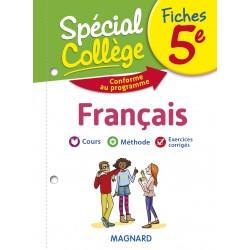 Spécial Collège - Fiches - Français - 5e - 2019 - Magnard