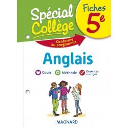 Spécial Collège - Fiches - Anglais - 5e - 2019 - Magnard