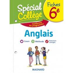 Spécial Collège - Fiches - Anglais - 6e - 2019 - Magnard