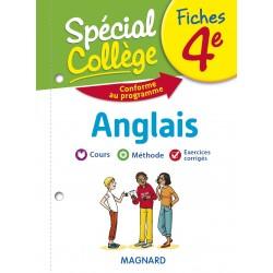 Spécial Collège - Fiches - Anglais - 4e - 2019 - Magnard
