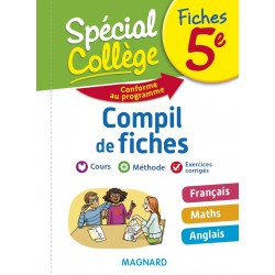 Spécial Collège - Compil de Fiches - Français Maths Anglais - 5e - 2018 - Magnard