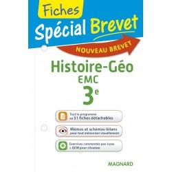 Spécial Brevet - Fiches - Histoire Géographie EMC - 3e - 2016 - Magnard