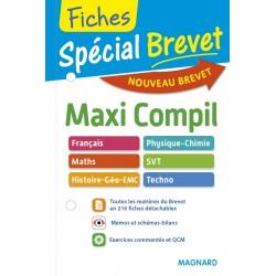 Spécial Brevet - Maxi Compil de Fiches - 3e - 2016 - Magnard