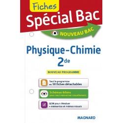 Spécial Bac - Fiches - Physique Chimie - 2de - 2019 - Magnard