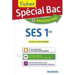 Spécial Bac - Fiches - SES - 1re - 2019 - Magnard