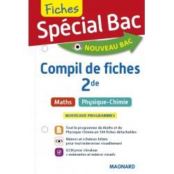 Spécial Bac - Compil de Fiches - Maths - Physique Chimie - 2de - 2019 - Magnard