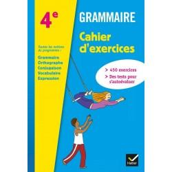 Grammaire 4ème - Cahier d'exercices - 2013 - Hatier