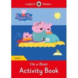 Peppa Pig - On a Boat - Activity Book - Ladybird Readers