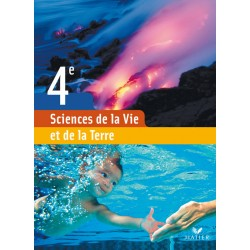 Sciences de la vie et de la terre 4ème - Manuel - 2007 - Hatier