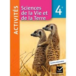 Sciences de la Vie et de la Terre 4ème - Fichier d'activités - 2011 - Hatier