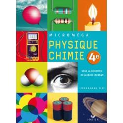 Microméga Physique-Chimie 4e - 2007 - Hatier