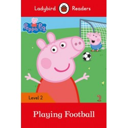 Peppa Pig - Playing Football - Book - Ladybird Readers