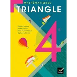 Triangle Mathématiques 4e - Manuel - 2011 - Hatier (format compact)