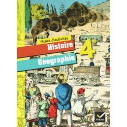 Histoire-Géographie 4ème - Fiches d'activités - 2011 - Hatier
