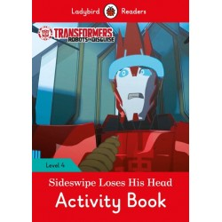 Transformers: Sideswipe Loses His Head - Activity Book - Ladybird Readers