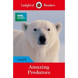 BBC Earth: Amazing Predators - Book - Ladybird Readers