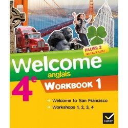 Welcome Anglais 4ème - Workbook (en 2 volumes) - 2013 - Hatier