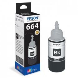 Epson 664 Noir originale - Bouteille d'encre pour ITS - T6641 - 70 ml