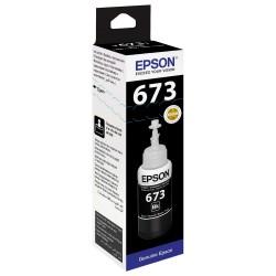 Epson 673 Noir originale - Bouteille d'encre pour ITS - T6731 - 70 ml
