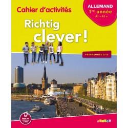Richtig clever LV2 1ère année - Cahier activités - éd 2016
