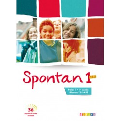 Spontan Neu 1 ( palier 1 - 1ère année ) LV1/LV2 - Livre + DVD- rom - éd 2013