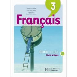 Textocollège Français 3e - Livre de l'élève - Edition 2008