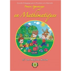 Premiers apprentissages en mathematiques - MS - 4/5 ans - Arrissala