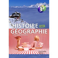Histoire Géographie EMC 3e - Cycle 4 - 2016 - Manuel - Hachette