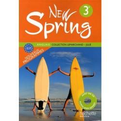 New Spring anglais 3ème LV1 - Manuel - 2009 - Hachette