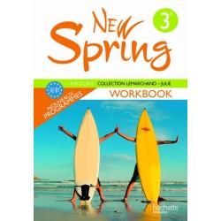 New Spring anglais 3ème LV1 - Workbook - 2009 - Hachette