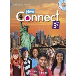 New Connect 3e / Palier 2 année 2 - Anglais - Manuel + CD élève inclus - 2014 - Hachette