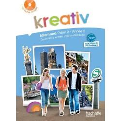 Kreativ allemand année 2 palier 2 - Livre de l'élève - édition 2010