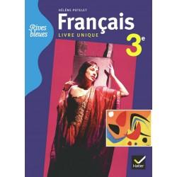 Rives bleues 3ème - Manuel (format compact) - 2012 - Hatier