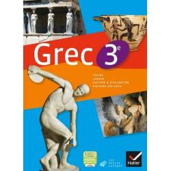 Grec 3e - Manuel - 2013 - Hatier