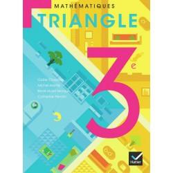 Triangle Mathématiques (format compact) 3ème - Manuel - 2012 - Hatier