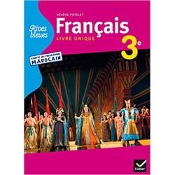 Rives Bleues 3e - Adapté au programme Marocain - Manuel - 2014 - Hatier