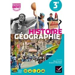 Histoire Geographie 3e - Manuel - 2016 - Sous la direction d'Ivernel - Hatier