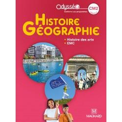 Histoire Géographie - Histoire des arts - EMC - CM2 - Odysséo - Manuel - 2020 - Magnard