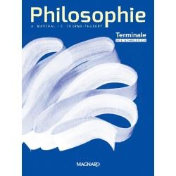 Philosophie Tle - Ed. Marchal - Voie Technologique - Manuel - 2020 - Magnard