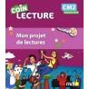 Le coin de lecture CM2 - Mon projet de lectures - 2018 - MDI