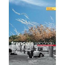 L'écume des Lettres Français 2de - Manuel - 2011 - Hachette