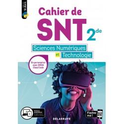 Cahier des Sciences numériques et Technologie (SNT) - 2de - Fichier - 2020 - Delagrave