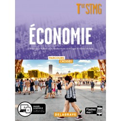Economie - Tle STMG - Parcours Croisés - Manuel - 2020 - Delagrave