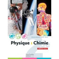 Physique Chimie 2de - Manuel - 2014 - Hachette