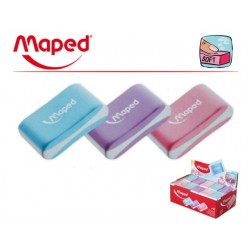Gomme Maped Soft Couleur Mini