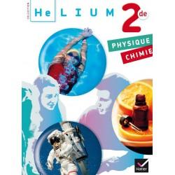 Hélium : Physique Chimie 2de - Manuel - 2014 - Hatier