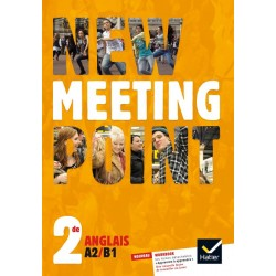 New Meeting Point 2de - Manuel - 2014 - Hatier