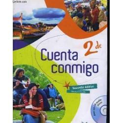 Cuenta Conmigo 2de - Manuel + CD - 2009 - Hatier