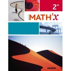 Math'x 2de - Manuel - 2014 - Didier