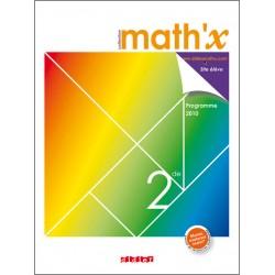 Math'x 2de - Manuel - 2010 - Didier